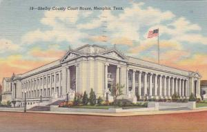 Shelby County Court House, Memphis, Tennessee, PU-1950