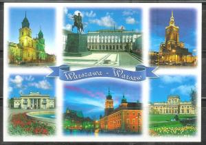 Poland, Warsaw, Palaces and St. Peters Church, unused