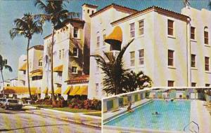 Florida West Palm Beach El Cid Apartment Hotel 1968