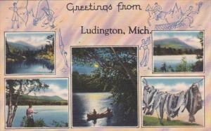 Michigan Greetings From Ludington