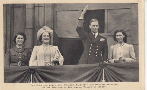 King , Queen , Princess Elizabeth , Princess Margaret , UK , 1930-40s : TUCK