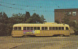 Trolley Southeastern Pennsylvania Transportation Authority Rainbow #2582