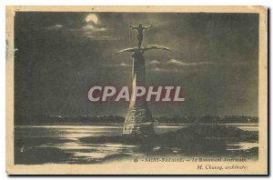 Old Postcard Saint Nazaire The American Monument