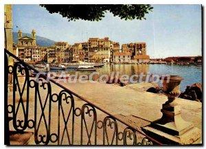 Modern Postcard The Old Port Bastia