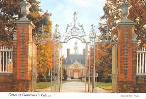 Gates at Governor's Palace -