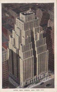 New York City Hotel New Yorker 1938