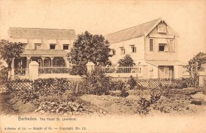 Barbados Hotel St Lawrence Exterior View Antique Postcard J47788