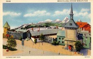 IL - Chicago. 1933 World's Fair, Century of Progress. Swiss Village