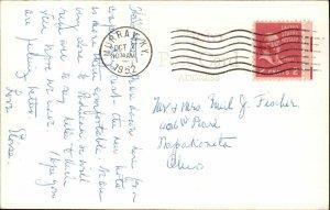 Kentucky Lake State Park Sun Deck Muuray Cancel 1952 Real Photo Postcard
