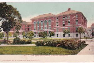California Oakland Lafayette High School