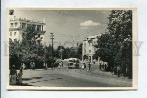 429829 USSR KALININGRAD Stalingradsky Prospekt 1955 year PHOTO postcard