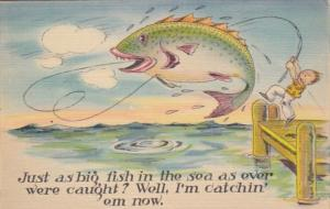 Fishing Humour Just As Big Fish In The Sea As Ever Were Caught