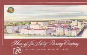 Wisconsin Milwaukee The Josef Schlitz Brewing Company