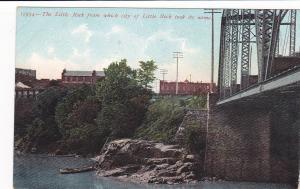 LITTLE ROCK, Arkansas, 00-10s; The Little Rock the city was named for, RR Bridge