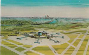 CINCINNATI, Ohio, Greater Cincinnati Airport to be completed in 1974