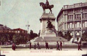 MILAN, ITALY MONUMENTO A G. GARIBALDI