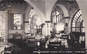 RP: TAXCO Gro. - Mexico , 30-40s; Interior , Comedor Posada De La Mision