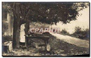 Old Postcard living In 1901 Jordan River Seine