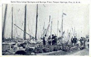 Sponge Fleet - Tarpon Springs, Florida FL