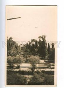 193121 IRAN Persia MAHUN Mosque garden Vintage photo postcard