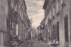 Little Champlain Street, Quebec, Canada, PU-1907
