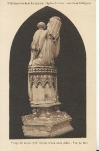 France Postcard - Villeneuve-Les-Avignon - Eglise St-Pons - Ref TZ10328