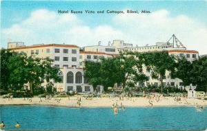 MS, Biloxi, Mississippi, Hotel Buena Vista and Cottages, E.C. Kropp No. 28578