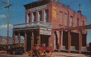 Vintage Postcard 1944 Territorial Enterprise Nevada First Newspaper Mormon Sta.