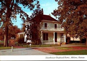 Kansas Abilene Eisenhower Boyhood Home