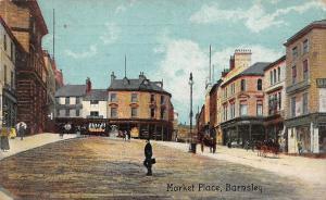 England Barnsley Market Place 1910