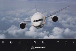 BOEING 777 Jet Airplane , 1998