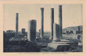 Latrines Des Thermes D'Ete, Thuburbo-Majus, Tunisia, Africa, 1910-1920s