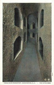 Postcard Catacombs Franciscan Monastery Washington DC