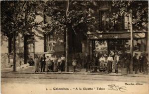 CPA COLOMBES A la Civette Tabac (860719)