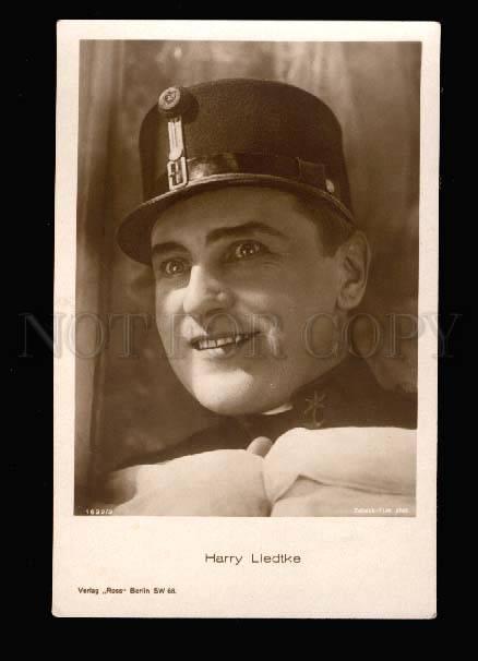 001908 Harry LIEDTKE Great MOVIE Star ACTOR Vintage Photo PC