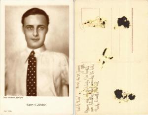 CPA EGON von JORDAN Ross Verlag 2035/1 Film Star (568546)