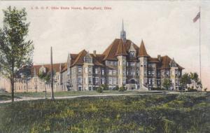 Exterior,  J.O.O.F. Ohio State Home,  Springfield,  Ohio,  00-10s