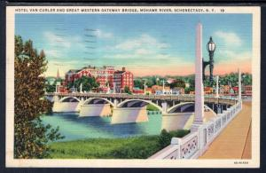 Hotel Van Curler,Great Wester Gateway Bridge,Schenectady,NY