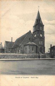 Canada North Bay Church of England Eglise Postcard