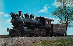 Pennsylvania  Railroad  now Strasburg Railroad #1223, Chrome