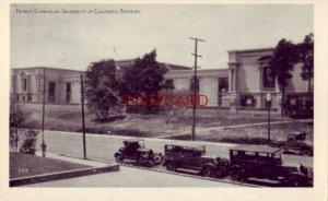 HEARST GYMNASIUM, UNIVERSITY OF CALIFORNIA, BERKELEY circa 1925 autos