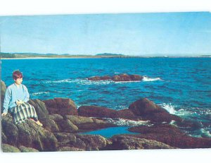 Pre-1980 SHORELINE Cape Ray At Channel-Port Aux Basques Newfoundland NL AD5614