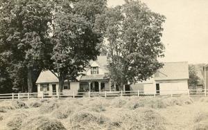 NH - Lisbon. The Locke Farm, 1910 Haying - RPPC