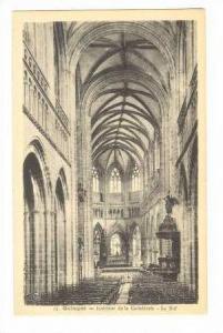 QUIMPER, France, 00-10s , Interieur de la cathedrale - La nef