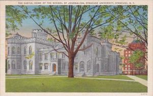 New York Syracuse The Castle Home Of The School Of Journalism Syracuse Univer...