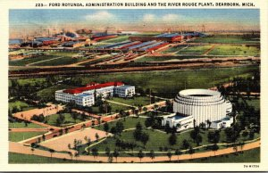Michigan Dearborn Ford Rotunda Administration Building & The River Rouge Plan...