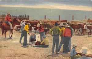 13560 Branding Cattle in the Southwest, N.M.