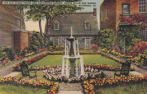 Virginia Richmond The Old Stone House And Enchanted Garden Edgar Allan Poe Sh...