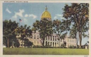 Maine Augusta State Capitol