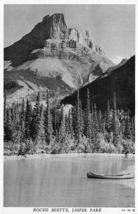 Canada Rochie Meitte Jasper Park Lake Forest Postcard
